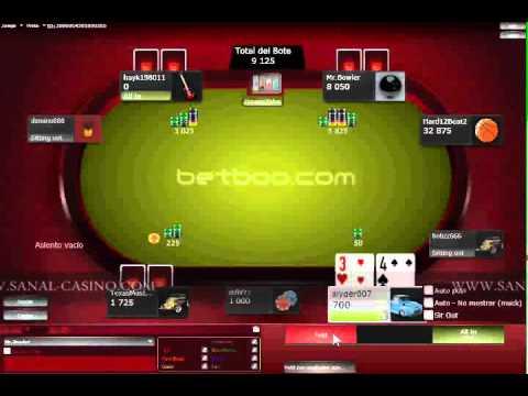 BETBOO POKER sanal casino.wmv - YouTube