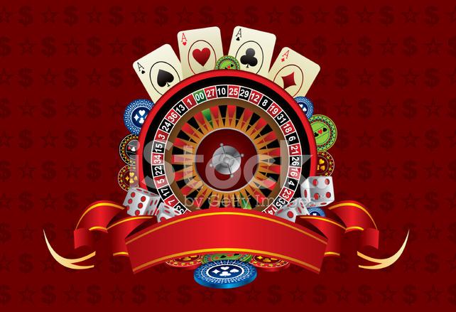 Casino Background Stock Vector - FreeImages.com