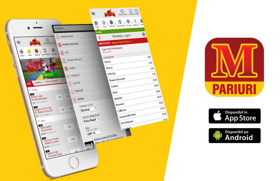 Descarcă noua aplicație MaxBet Pariuri, disponibilă atât pe iOS ...