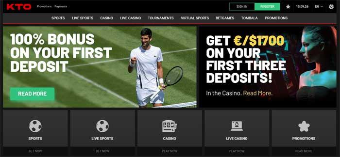 KTO sportsbook: bonus, deposit, contacts – International Betting