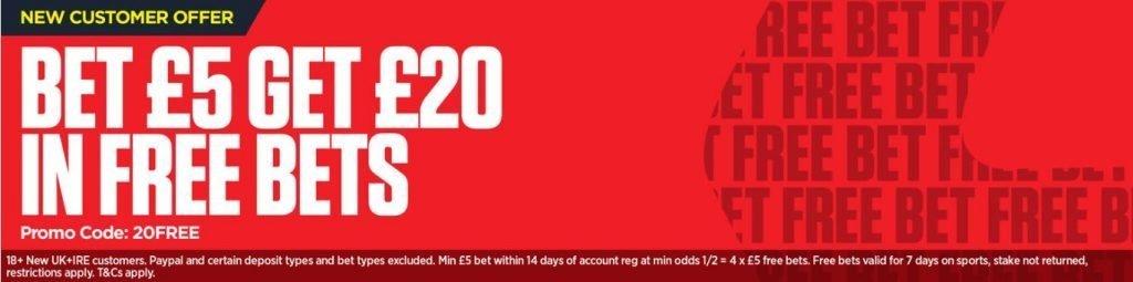 Ladbrokes 10 30 - Get the Ladbrokes Free Bet Offer