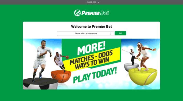 sport.premierbet.com - Premier Betting Africa - Sport Premier Bet