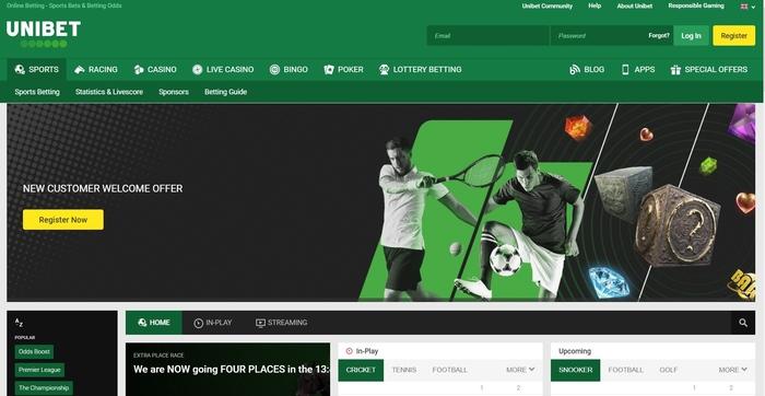 Unibet Review - Bet £20 Get £40 | Free Bets & Bonuses | Latest ...